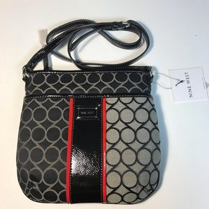 NINE WEST Jacquard 10*10 Inch Bag